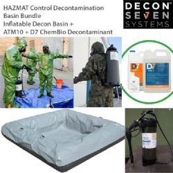 HAZMAT Control Decontamination Basin Bundle
